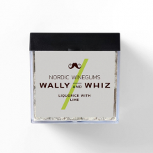 Wally and Whiz lakrids med lime