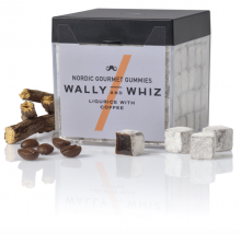 Wally and Whiz lakrids med kaffe